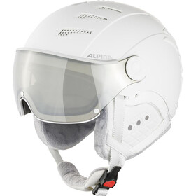 Alpina Jump 2.0 VM Skihelm, white/grey matt